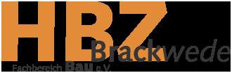 LOGO des Handwerksbildungszentrums, HBZ in orange als Großbuchstaben